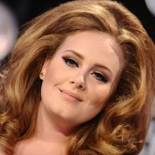 Adele aux MTV Video Music Awards à Los Angeles, le 28 août 2011.