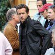 Ryan Reynolds en septembre 2011 à Boston sur un tournage
