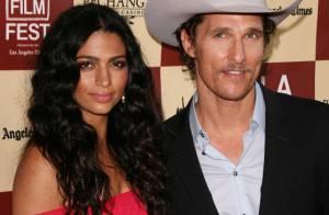 Matthew McConaughey : Le sex symbol s'est fiancé avec sa belle Camila