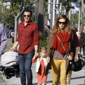 Jessica Alba : Triste mine pour Noël avec son chéri, qui a pris du poids