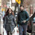 Julianne Moore et son mari Bart Freundlich, le 26 décembre 2011, à New York.