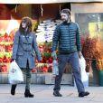 Julianne Moore et son mari Bart Freundlich, le 26 décembre 2011 à New York.