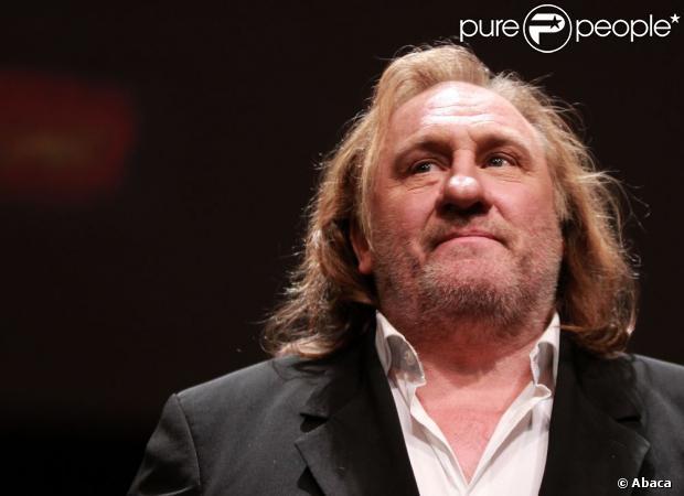 Gérard Depardieu en octobre 2011