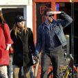 Olivia Wilde et Jason Sudeikis en amoureux dans les rues de New York le 31 décembre 2011