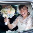 Lily Allen et Sam Cooper lors de leur union à l'été 2011
