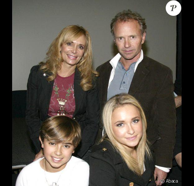 Hayden Panettiere en famille.