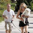 Alan et Lesley, les parents d'Hayden Panettiere, à Los Angeles, le 11 août 2008.