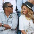 Beyonce Knowles et Jay-Z à New York le 12 septembre 2011