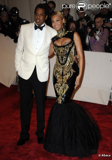Beyonce Knowles et Jay-Z à New York le 2 mai 2011