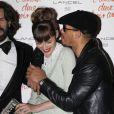 Louise Bourgoin et JoeyStarr lors de l'avant-première du film L'amour dure trois ans le 7 janvier 2012