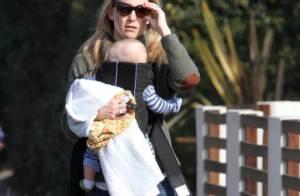 Kate Hudson superbe maman poule pour Bingham, Goldie Hawn fait la belle