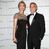 George Clooney nage dans le bonheur avec sa ''fille'' et Stacy Keibler