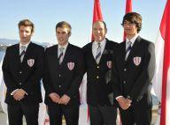 Albert de Monaco présente son équipe pour les Jeux olympiques... de la jeunesse