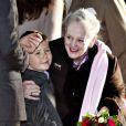 Dans la matinée du 11 janvier 2012, la reine Margrethe II de Danemark inaugurait au Musée d'histoire nationale de Frederiksborg une exposition retraçant ses 40 ans de règne, en présence de son petit-fils le prince Christian, chargé de dévoiler un portrait inédit.