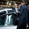Le prince héritier Philippe de Belgique inaugurait le 11 janvier 2012 le 90e Salon de l'Auto de Bruxelles, à Brussels Expo.