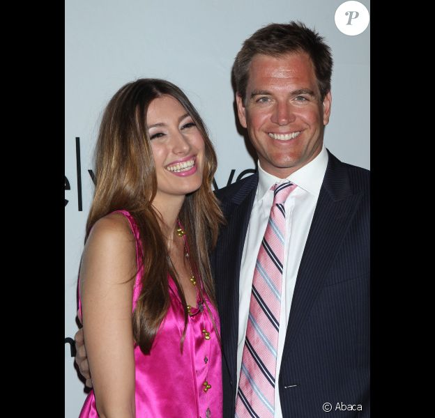 Michael Weatherly et sa femme Bojana Jankovic à Los Angeles en septembre 2011
