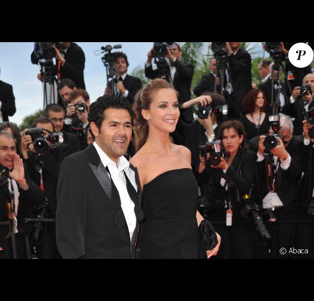 Mélissa Theuriau et Jamel Debbouze en mai 2010 à Cannes