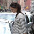 Katie Holmes à New York, le samedi 14 janvier 2011.