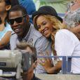 Beyoncé et Jay-Z à New York, le 12 septembre 2011.