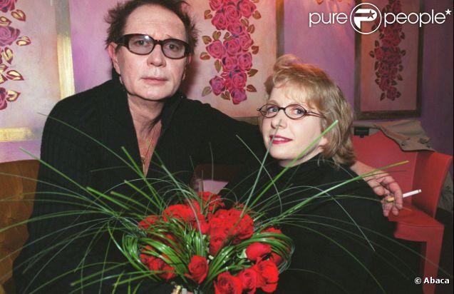 Eric Charden et son épouse Gabrielle en mars 2002 à Paris