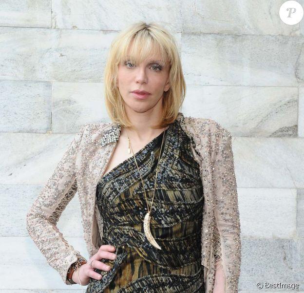 Courtney Love à Milan, le 25 septembre 2011.