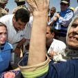 Angelina Jolie dans un camp de réfugiés