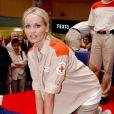 Adriana Karembeu prête son image à la Croix-rouge depuis 2000