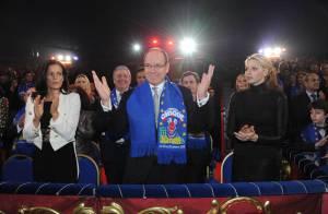 Albert et Charlene de Monaco réjouis pour le grand soir du Festival du Cirque