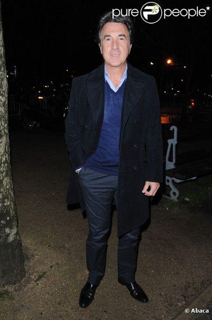 François Cluzet lors de la première de Lucide au théâtre Marigny le 25 janvier 2012 à Paris