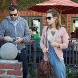 Olivia Wilde et son petit ami Jason Sudeikis à Los Angeles le 26 janvier 2012