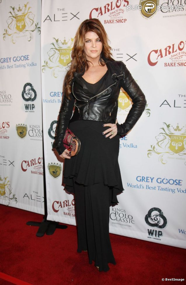 Kirstie Alley célèbre l'anniversaire de son ami danseur Maksim Chmerkovskiy au Hammerstein Ballroom à New York, le 27 janvier 2012.