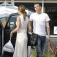 Photos exclusives : Elisabetta Canalis et Steve-O, très in love, le 30 janvier 2012 dans les rues de Los Angeles