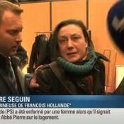 François Hollande enfariné : La femme l'ayant agressé s'explique