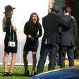 AnnaLynne McCord, Shenae Grimes, Tristan Wilds et Matt Lander détendus sur le tournage de  90210 , à Los Angeles, le 1er février 2011.
