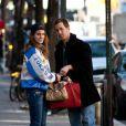 Lana Del Rey dans les rues de New York a rendez-vous avec un mystérieux inconnu à New York le 3 février 2012...
