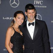 Djokovic : Sa sublime Jelena et des couples éblouissants pour son Laureus award