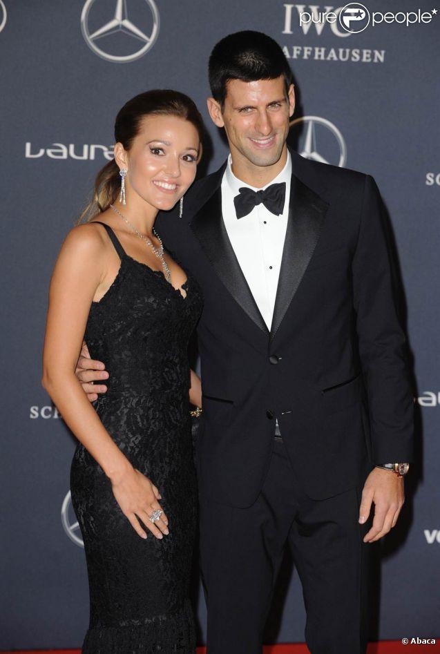 Novak Djokovic couple