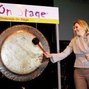 La princesse Maxima sonne le gong pour les étudiants néerlandais