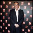 Jean-Pierre Pernaut lors des 25 ans de TV Magazine au Plaza Athenée le 8 février 2012 à Paris
