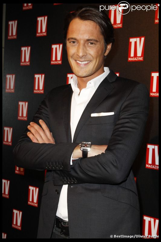 Vincent Cerutti lors des 25 ans de TV Magazine au Plaza Athenée le 8 février 2012 à Paris
