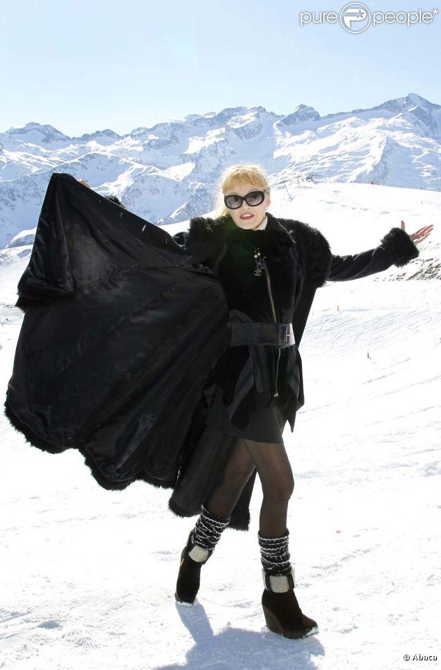 Arielle Dombasle au Festival de Luchon, le 10 février 2012.