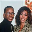 Whitney Houston avec Bobby Brown en mars 1994.