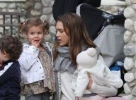 Jessica Alba : Maman poule pour Haven et Honor, reines du bac à sable