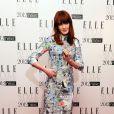 Florence Welch du groupe Florence + The Machine, recevait l'award de Meilleure Chanteuse des mains d'un confrère : le rappeur Dizzee Rascal.