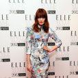 Florence Welch du groupe Florence + The Machine portait une robe Erdem sur des chaussures Nicholas Kirkwood lors des Elle Style Awards 2012 à Londres, le 13 février 2012.