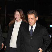 Carla Bruni-Sarkozy : Au plus près de son Nicolas lorsqu'il se déclare