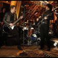Johnny Hallyday en concert à la Tour Eiffel le 3 décembre 2011