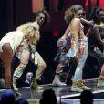 Rihanna livrait une performance très sexy de son tube We Found Love sur la scène de l'O2 Arena lors des Brit Awards 2012.