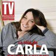 Carla Bruni-Sarkozy en couverture de TV Mag (en kiosques le 17 février 2012)
