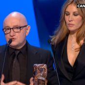 César 2012 : Michel Blanc reçoit le prix du meilleur second rôle masculin
